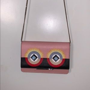 Fendi Wallet on Chain, Pink little monster.
